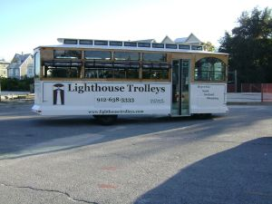 St Simons Lighthouse Trolley