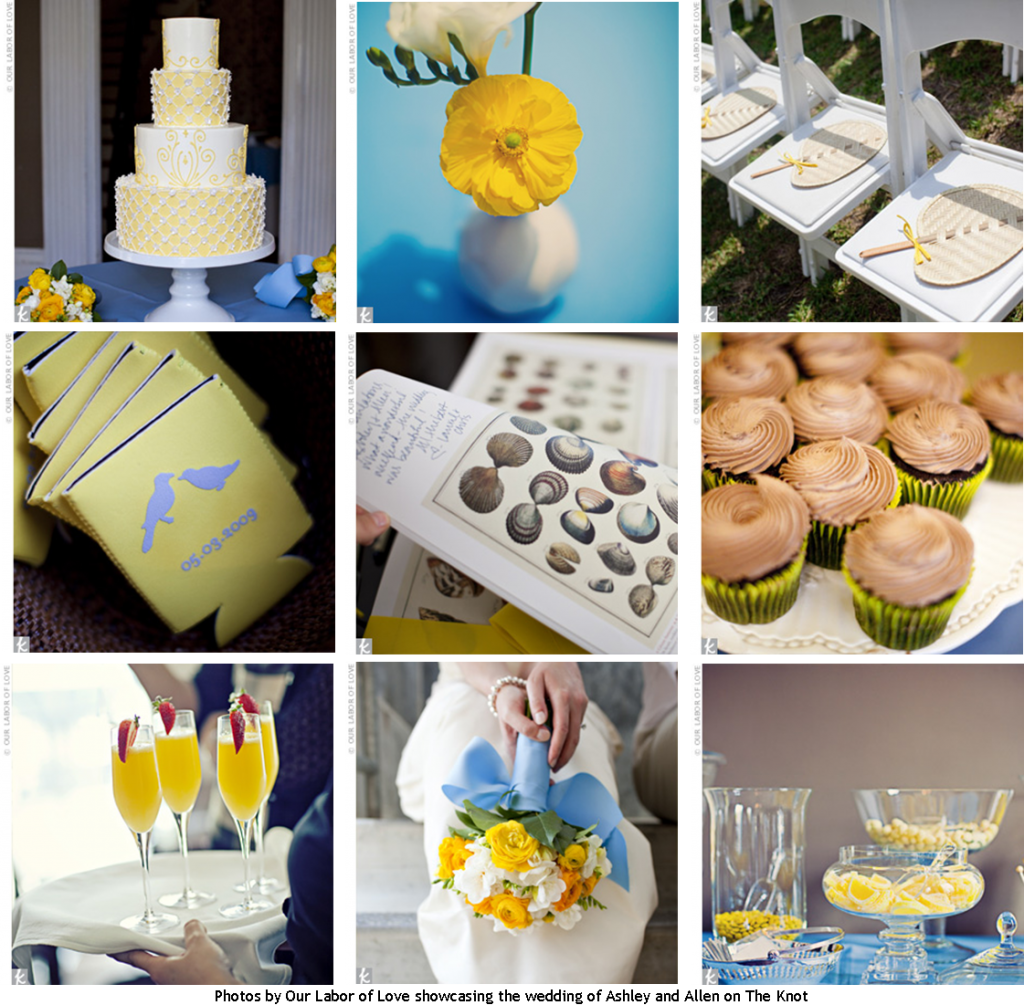 Yellow Wedding Decor