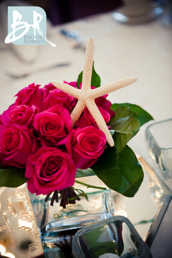 Seashell Wedding Centerpiece