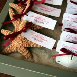 Starfish Wedding Place Card Holders