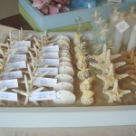 Sand Tray Wedding Place Cards
