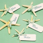 Starfish Wedding Place Card Ideas