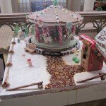 Gingerbread Creation by Housekeeping Department
