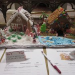 Gingerbread Houses by Food & Beverage Department