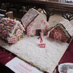 Gingerbread Houses by Maintenance Department