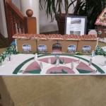 Gingerbread House by The Front Desk Department