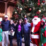 Santa, Elves and Resort Guests