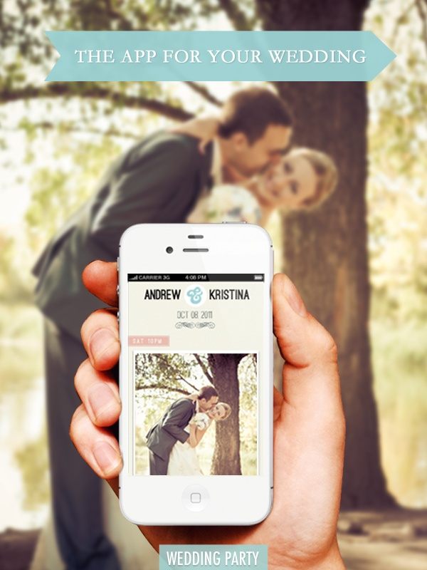 Wedding party app create your wedding album in real time the wedding party app junglespirit Images