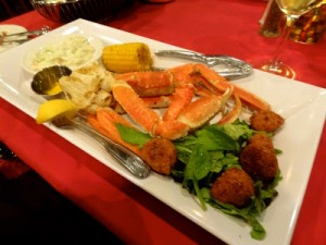 All You Can Eat Crablegs at The King's Tavern