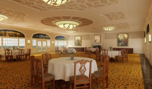 Delegal Banquet Room Rendering