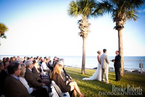 Beach Wedding on St. Simons Island