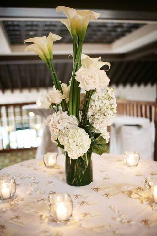 Simple wedding centerpieces image collections