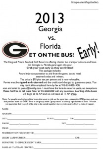 Georgia Florida Bus Form