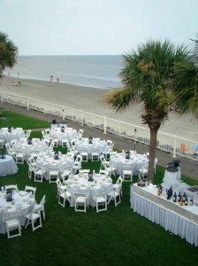 Oceanfront wedding venue