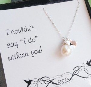 Pearl Necklace for Bridesmaids