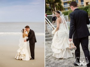 Beach Wedding Photos on St. Simons Island