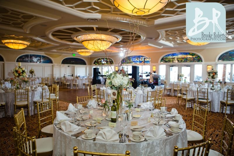 Delegal Dining Room Wedding Set-up