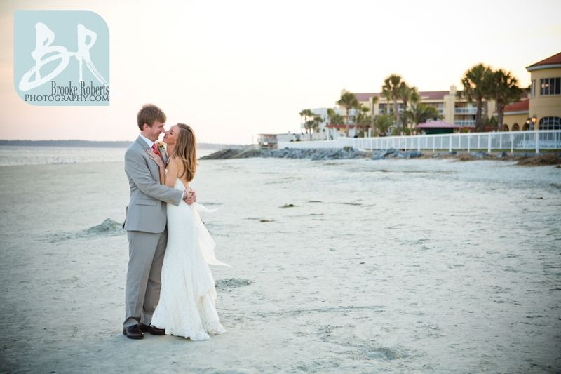 Georgia Oceanfront Wedding Pictures