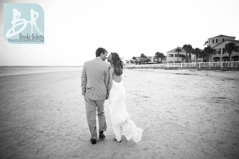 Georgia Oceanfront Wedding Photos