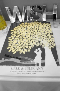 Tree Guestbook for Wedding