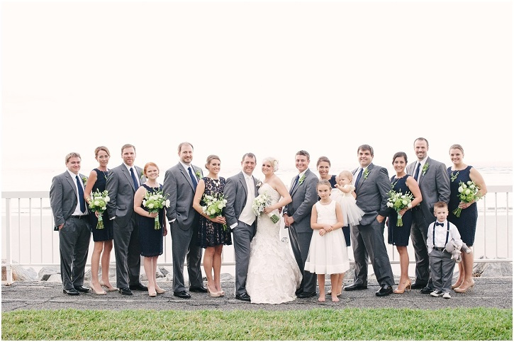 Bridal Party on St. Simons Island