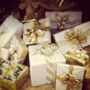Wrapped Gifts at The King and Prince