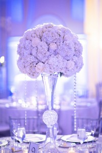 Crystal in Wedding Bouquet