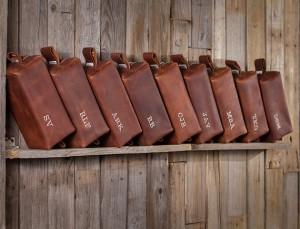 Handmade Leather Toiletry Case