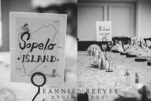 Island Themed Table Toppers