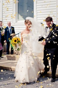 Toss Petals for Wedding