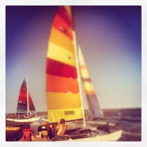 Sailing on St. Simons Island