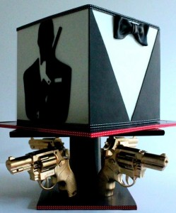 James Bond Groom's Cake