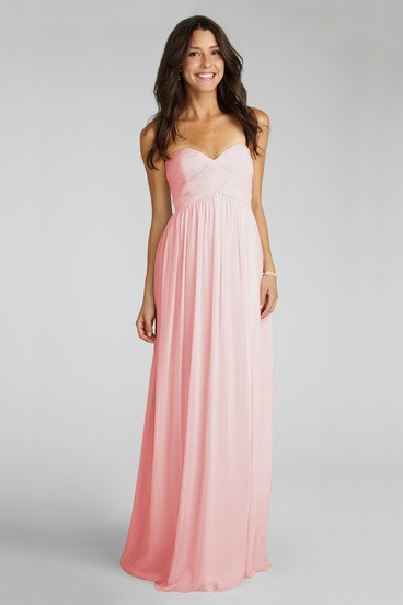 Silk Chiffon Bridesmaid Dress by Donna Morgan