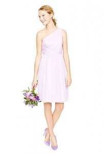 Silk Chiffon Bridesmaid Dress from J. Crew