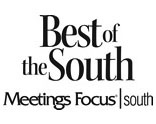 Best of the South Award from Meetings Focus South