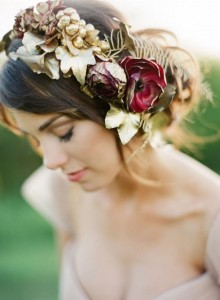Fall Floral Crown