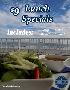 $9 Lunch Specials on St. Simons Island