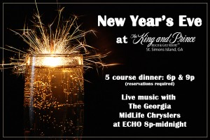 New Year's Eve at The King and Prince