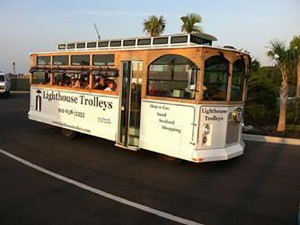 St. Simons Island Lighthouse Trolley