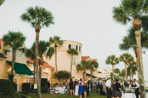 Oceanfront Cocktails on the Lawn at The King and Prince Resort