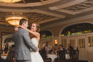 First Dance in the Delegal Room