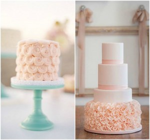 Rose Quartz Wedding Cakes