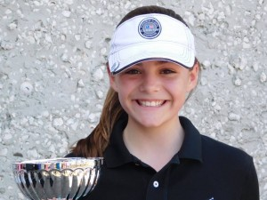 Virginia Anne Holmes: Girls U13 Champion