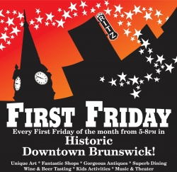 First Friday in Historic Brunswick