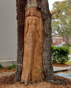 The newest Tree Spirit on St Simons Island