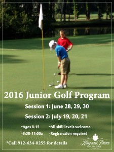 Junior Summer Golf Program