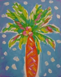 Get Your Muse On Palm Tree Painting