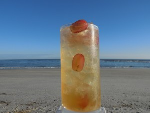 Red Grape and Coconut Refresher