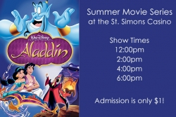 Summer Movie Series - Aladdin