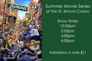 Summer Movie Series St. Simons Casino